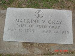 Maurine Vera <I>Moore</I> Gray