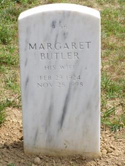 Margaret <I>Butler</I> Baker