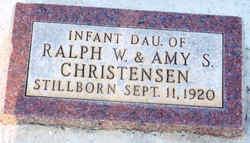 Infant Daughter Christensen