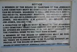 Jennings Lake Cemetery