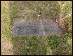Stella Leona <I>Reed</I> Dixon