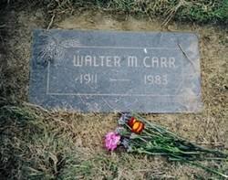 Walter Mills Carr
