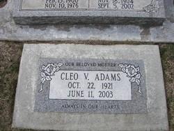 Cleo Vonda <I>Swank</I> Adams