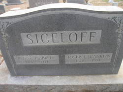"Penelope Isabelle ""Penna"" <I>Willard</I> Siceloff"