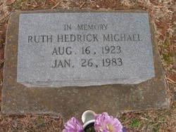 Ruth <I>Hedrick</I> Michael