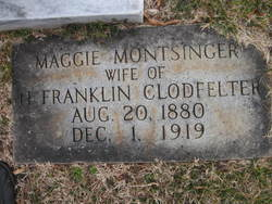 Maggie L. <I>Motsinger</I> Clodfelter