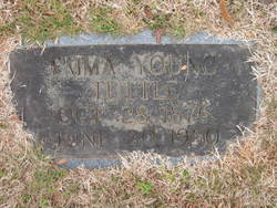 Emma Elizabeth <I>Young</I> Tuttle