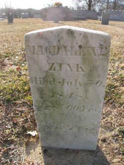 Mary Magdalene <I>Motsinger</I> Zink