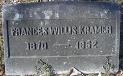Frances Willis Kramer
