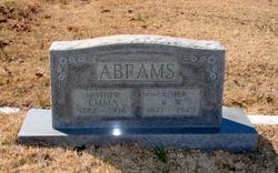 Emma Ella Mae <I>Nelson</I> Abrams