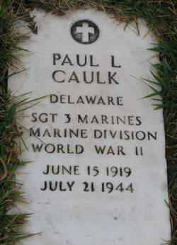 SGT Paul L Caulk