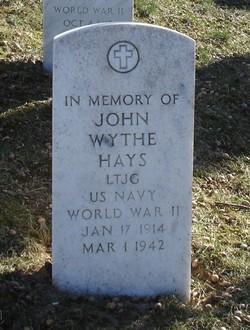LTJG John Wythe Hays