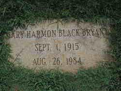Mary Harmon <I>Black</I> Bryant