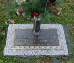 Charles William Cox, IV