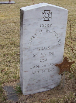 Corp James H Woodard