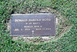 Donald Harold Boyd