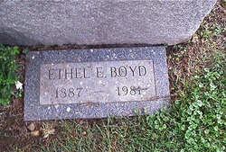 Ethel Edna <I>McSwegin</I> Boyd