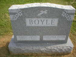 Harry Swope Boyle Jr.