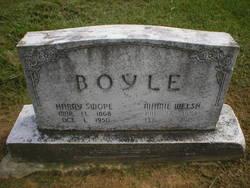 """Mary Grace """"Mamie"""" <I>Welsh</I> Boyle"""