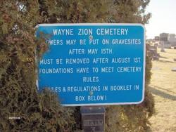 Wayne Zion Cemetery
