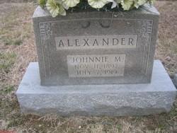 Johnnie <I>Manning</I> Alexander