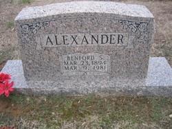 Benford Squire Alexander