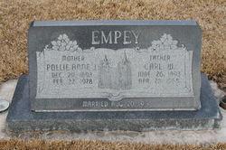"Carlos William ""Carl"" Empey"
