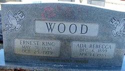 Ada Rebecca <I>Davis</I> Wood