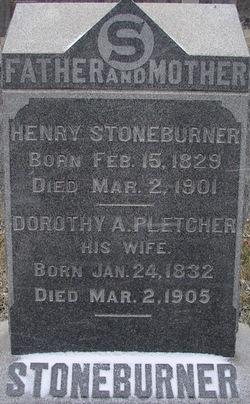 Dorothy A IPletcher I Stoneburner