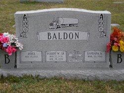 Robert W. Baldon, Sr