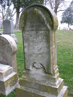 "Valeria Wailes ""Lizzie"" <I>Allnutt</I> Veirs"