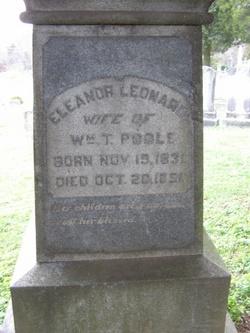 Eleanor Leonard <I>Hays</I> Poole
