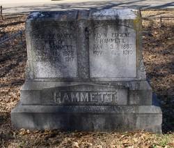 Eula Lee <I>Randol</I> Hammett