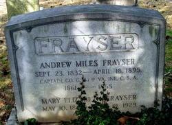 Capt Andrew Miles Frayser