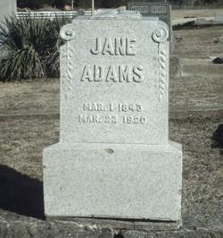 Martha Jane <I>Long</I> Adams