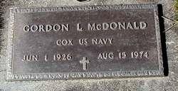 Gordon L McDonald