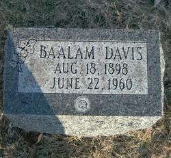 Arvel Baalam Davis