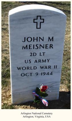 2Lt John M Meisner