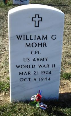 CPL William George Mohr