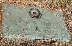 Barbara Ann Barringer