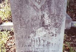Alexander McBride Peeples, Sr