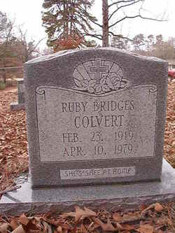 Ruby Bridges Colvert 1919 1979 Find A Grave Memorial