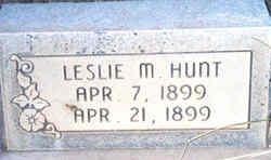 Leslie Marian Hunt