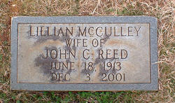 Lillian Catherine <I>McCulley</I> Reed