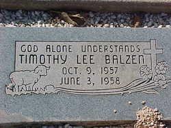 Timothy Lee Balzen