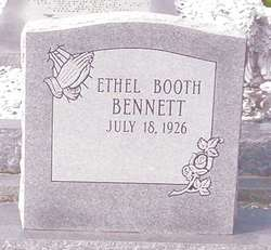 Ethyl <I>Booth</I> Bennett