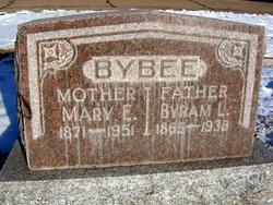 Mary Ella <I>Baker</I> Bybee