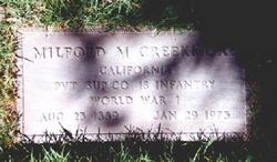 Milford M Creekmore