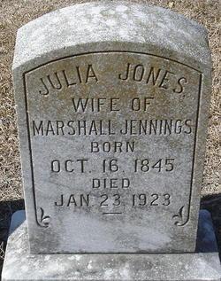Julia <I>Jones</I> Jennings