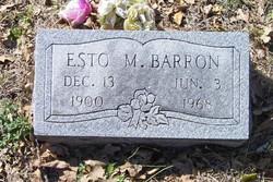 Esto Milton Barron